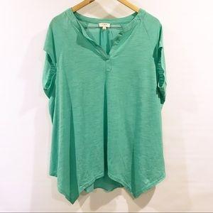 Umgee | oversized green blouse S